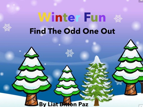 Winter Fun -Find The Odd One Out  by Liat Bitton-paz