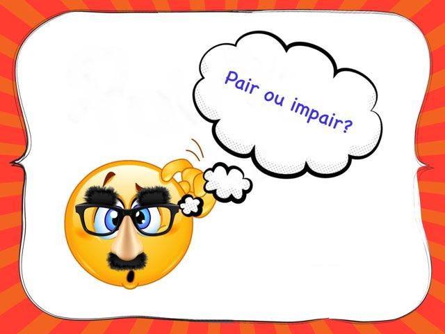 Pair ou impair? by Sylvianne Parent