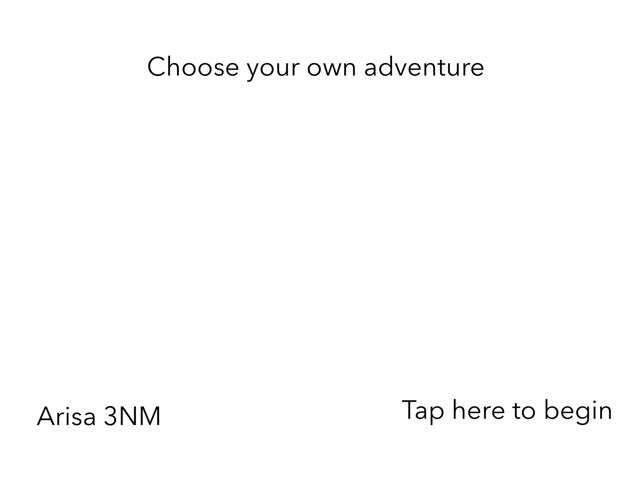Arisa Choose your own adventure  by 3NM iPad