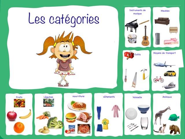 Les catégories sémantiques by Marie-Claude GR