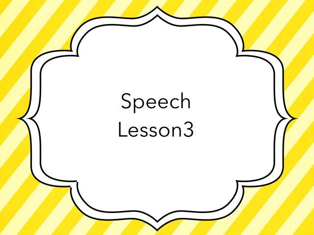 Speech Review by Emma- Martino