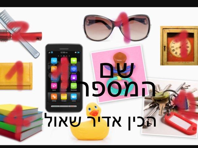 שם המספר אדיר שאול by Maya Yehuda