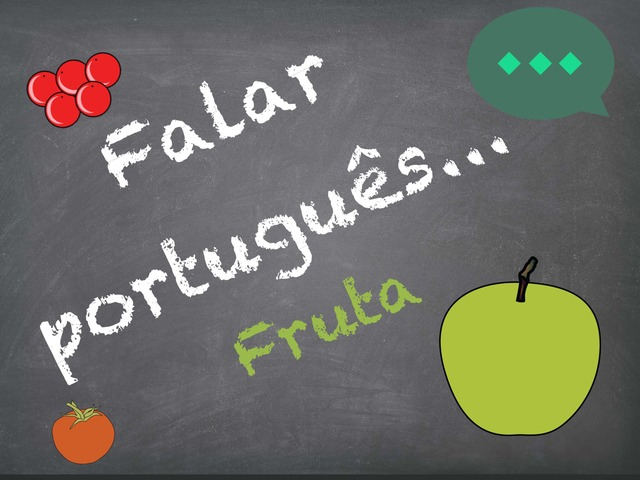 Falar Português (fruta) by Inês Ruxa