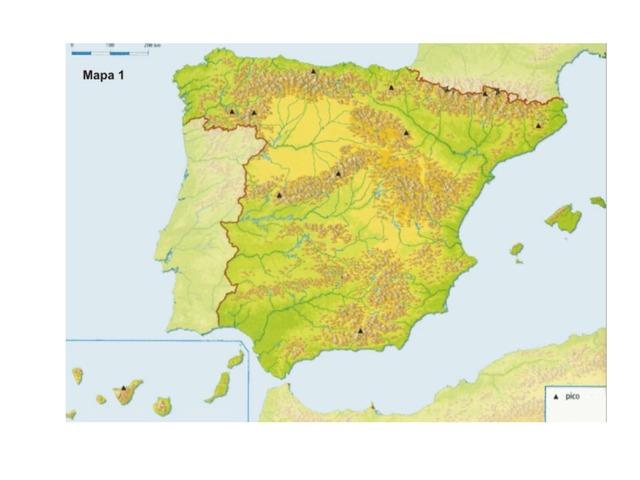 Relieve de España by Jesus Olivas Toloba