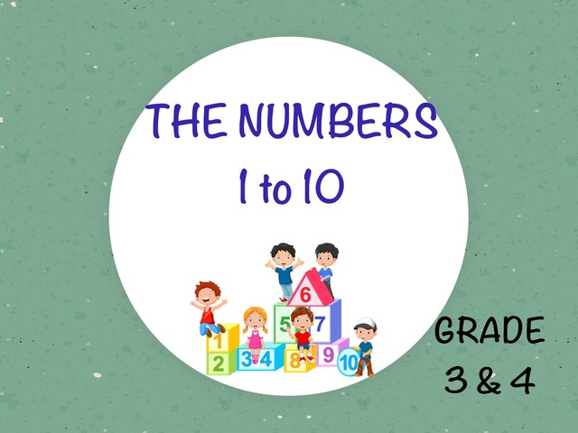 The Numbers 1-10 by Laurence Micheletti