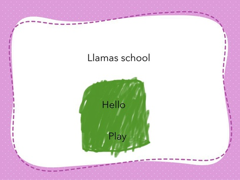 Llamas School  by Mayra Vega