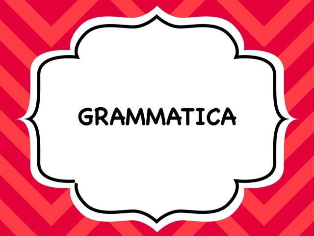 Grammatica Suoni C e G by Annalisa Garofalo