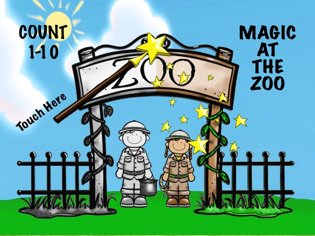 Zoo Magic - Count 1-10 by Cici Lampe