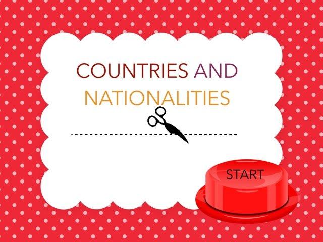 Namų darbai. Anglų k. COUNTRIES AND NATIONALITIES. QUIZ'as :D. by Penktokai VPG