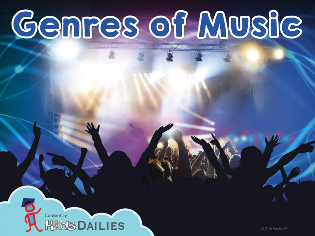 Genres Of Music  by Kids Dailies