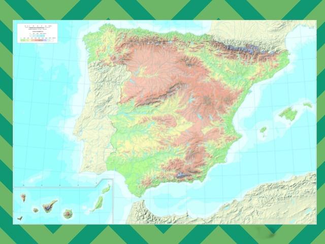 España y su relieve by Athenea Alcantara Martinez