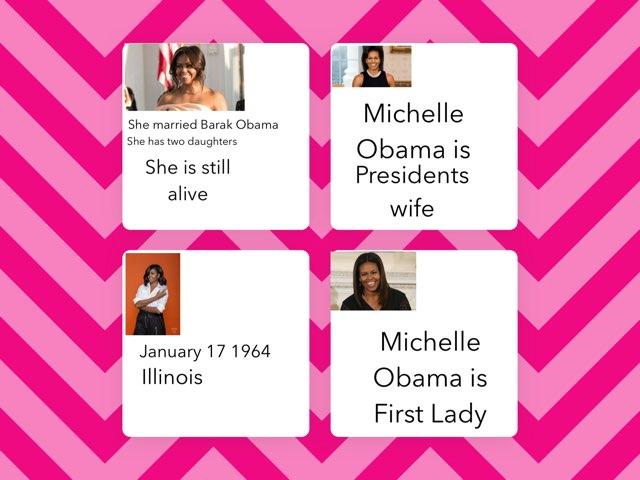 Michelle Obama By Ashley by Christine Snow