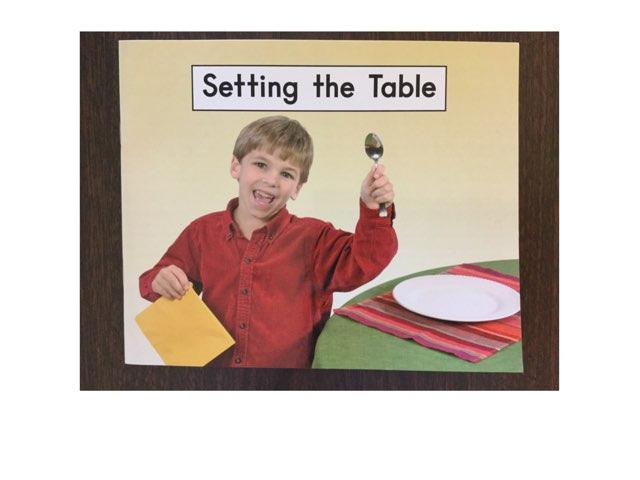Setting the Table by Trish Lopacienski