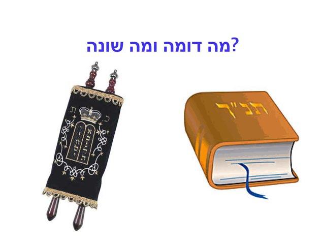 השוואה בין ספר תורה לתנ״ך by Tzevet Bbm