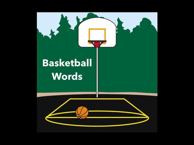 WFPS Basketball Words by Danette Brown