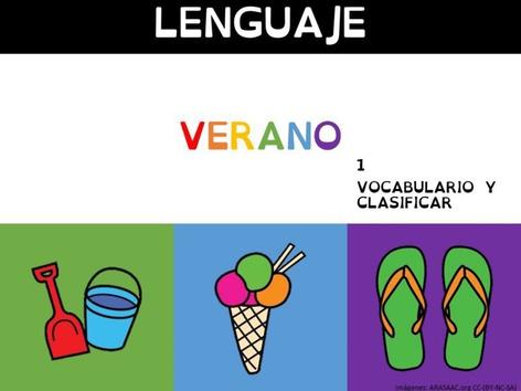 Verano Vocabulario 1 by Sergio Mesa Castellanos