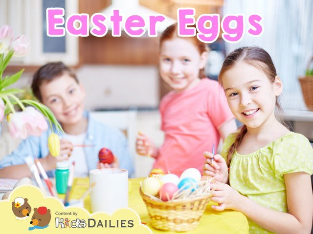 Easter Eggs by Kids Dailies