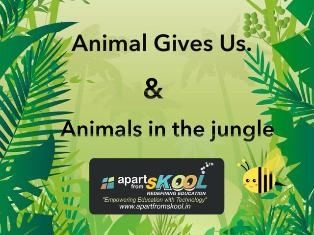 Animals Gives Us & Animals In the Jungle by TinyTap creator