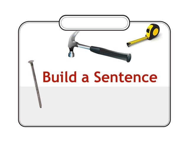 WFPS Build A Sentence by Danette Brown