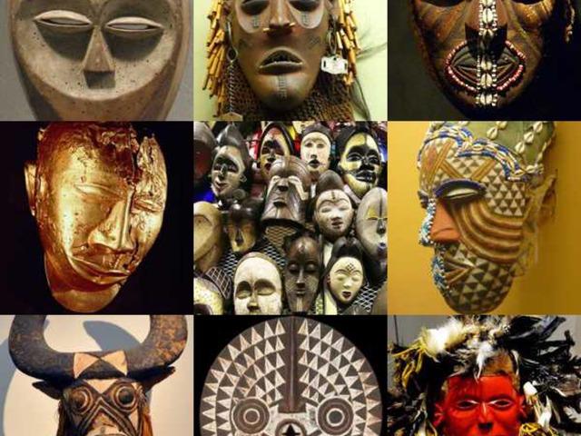 Afričke Maske 2.r. by natasa delac
