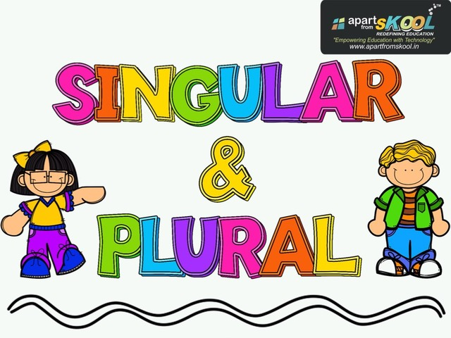 Singular And Plural Nouns by TinyTap creator