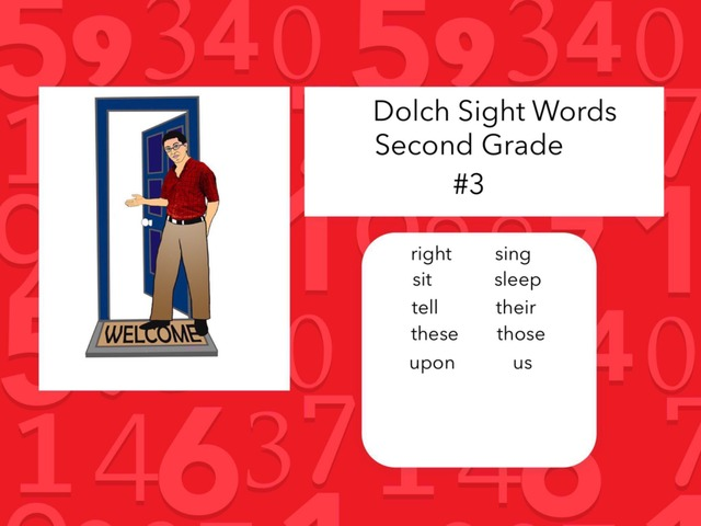 Dolch Sight Words: Second Grade #3 by Carol Smith