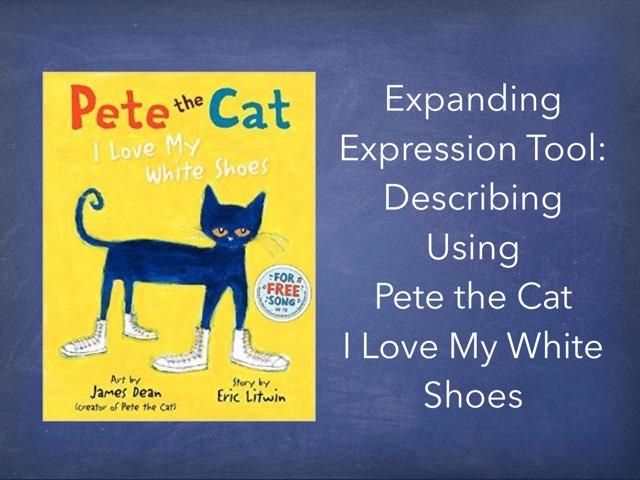 Pete The Cat Descriptions Using EET by Karen Souter