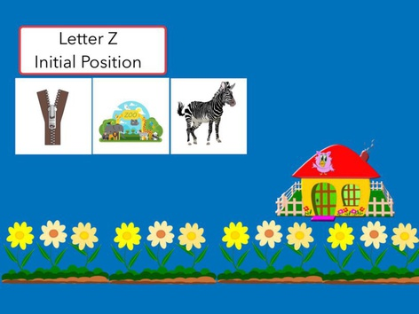 Letter Z : Initial Position Of Words  by Carol Smith