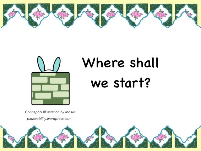 Where Shall We Start? by Moses Sia