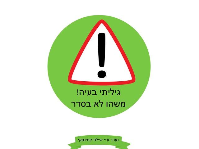 פתרון בעיות by Ayelet Levy Kaminsky