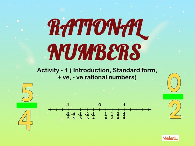 G7 Rational Numbers 1 by Manish Kumar