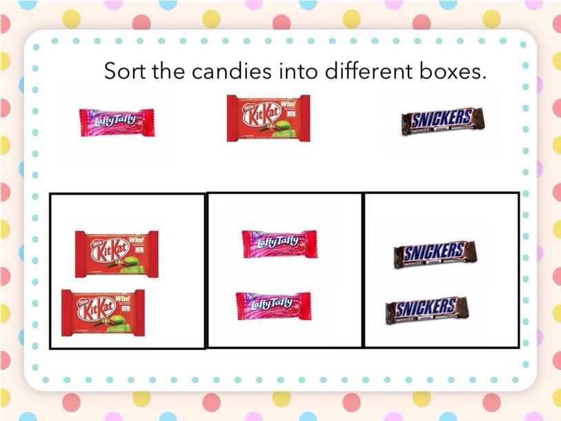 Sorting Candy by Deepa Joseph