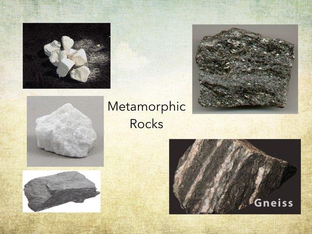 Metamorphic Rocks by Frances Chapin