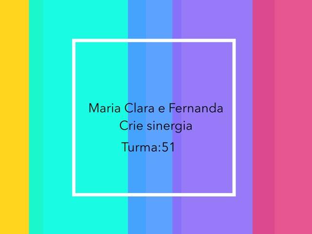 Fernanda E Maria by Rede Caminho do Saber