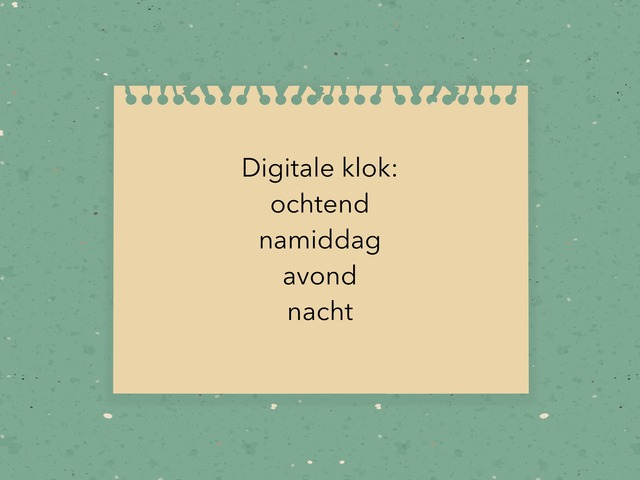Digitale Klok by Jora Kesteloot