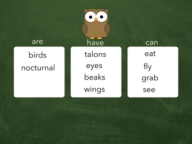 Owls Are Have Can by Mrs