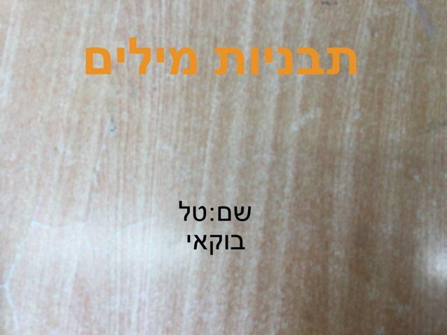 משחק 24 by Maya Yehuda