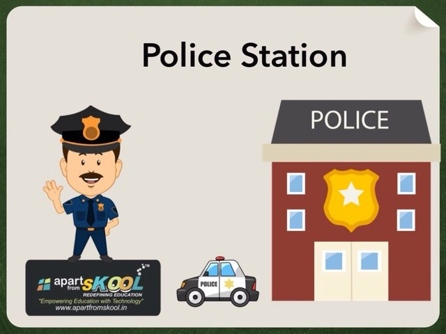 Police Station by TinyTap creator