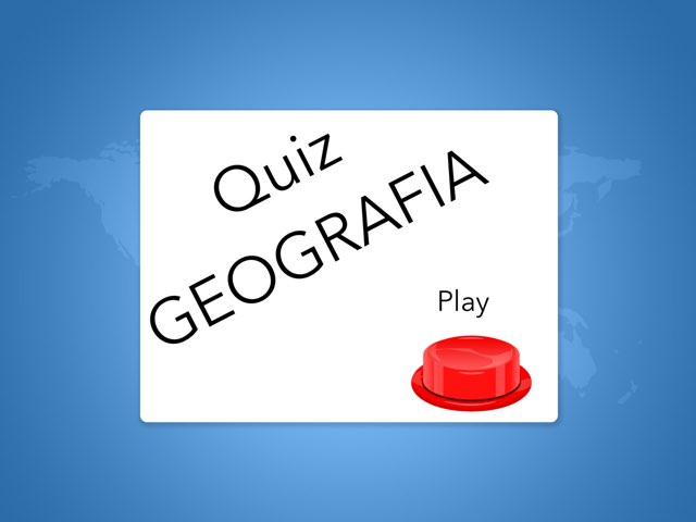 Quiz Geografia by Manuella Ferrari