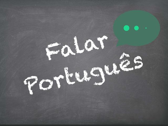 Falar Português (feminino e masculino) by Inês Ruxa