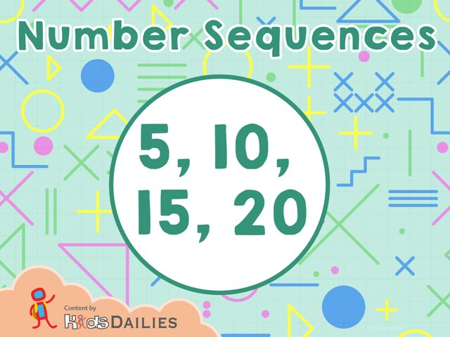 Number Sequences  by Kids Dailies