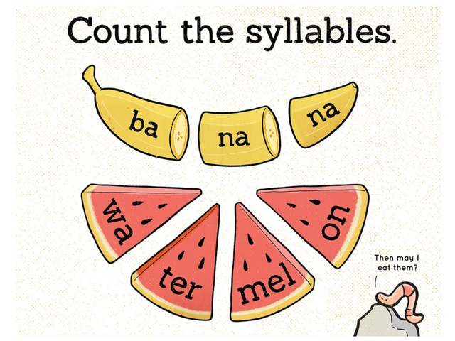 Count The Syllables by Jennifer Wentworth