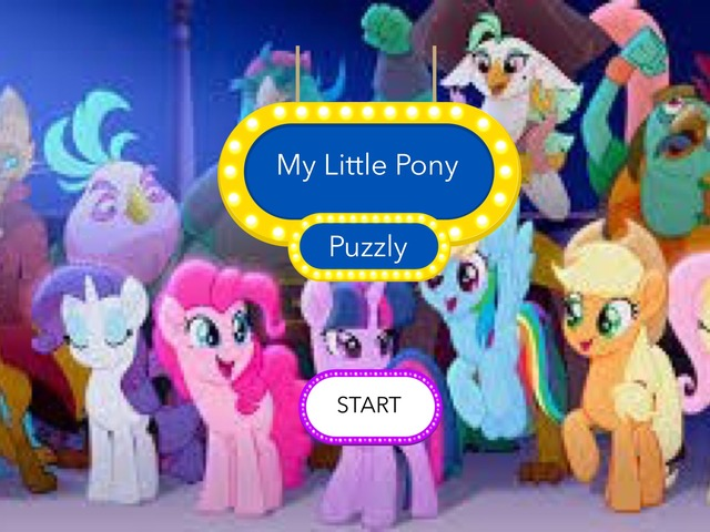 My Little Pony: Puzzly by Allene Anabelle Lukito