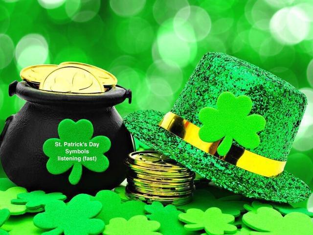 St. Patrick's Day - Symbols - Listening (fast) by Teeny Tiny TEFL