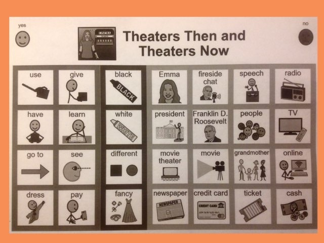 November Lesson 6: Chapter 5 Sight Word Find For Theaters Then And Theaters Now by Tanya Folmsbee