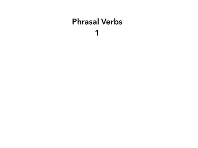 Phrasal Verbs1 by Marta Morant