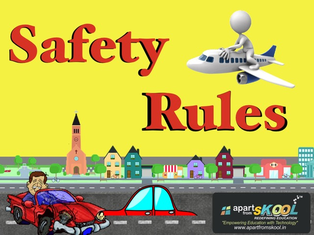 Safety Rules by TinyTap creator