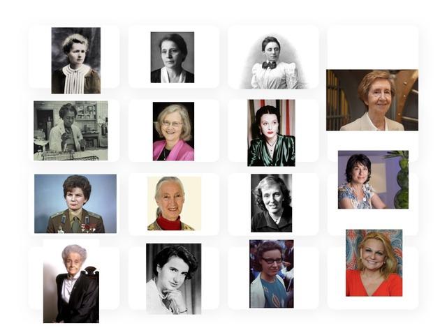 Mujeres De Ciencia by TinyTap creator