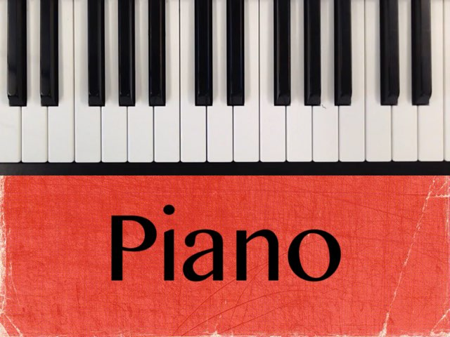 Piano by Emma Tveita