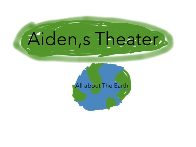 Aiden,s Theater All About The Earth by Aiden Borlongan
